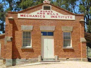 Fryerstown, another former booming gold rush town